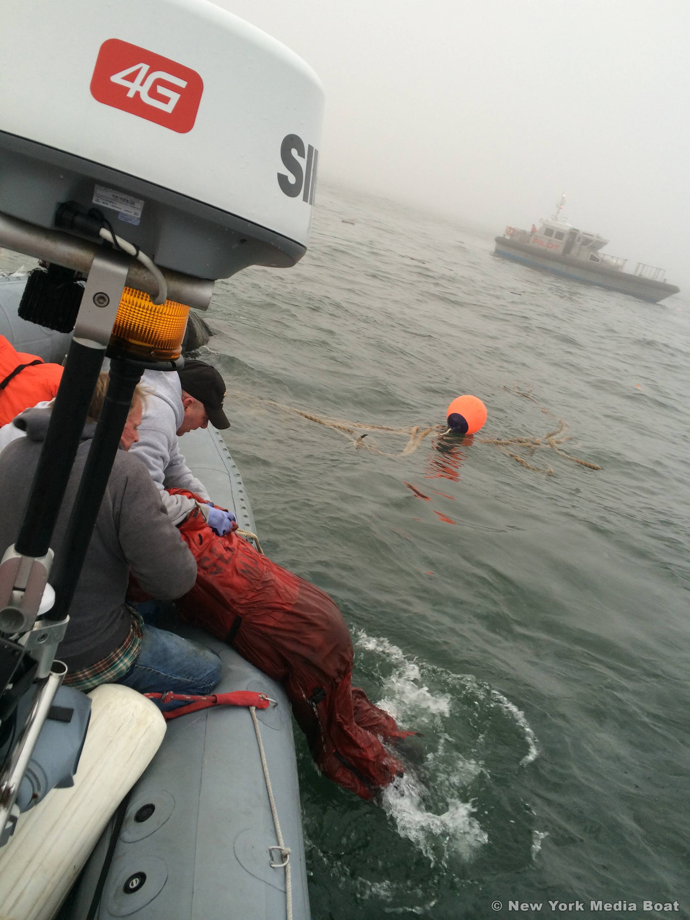New York Media Boat Rescue