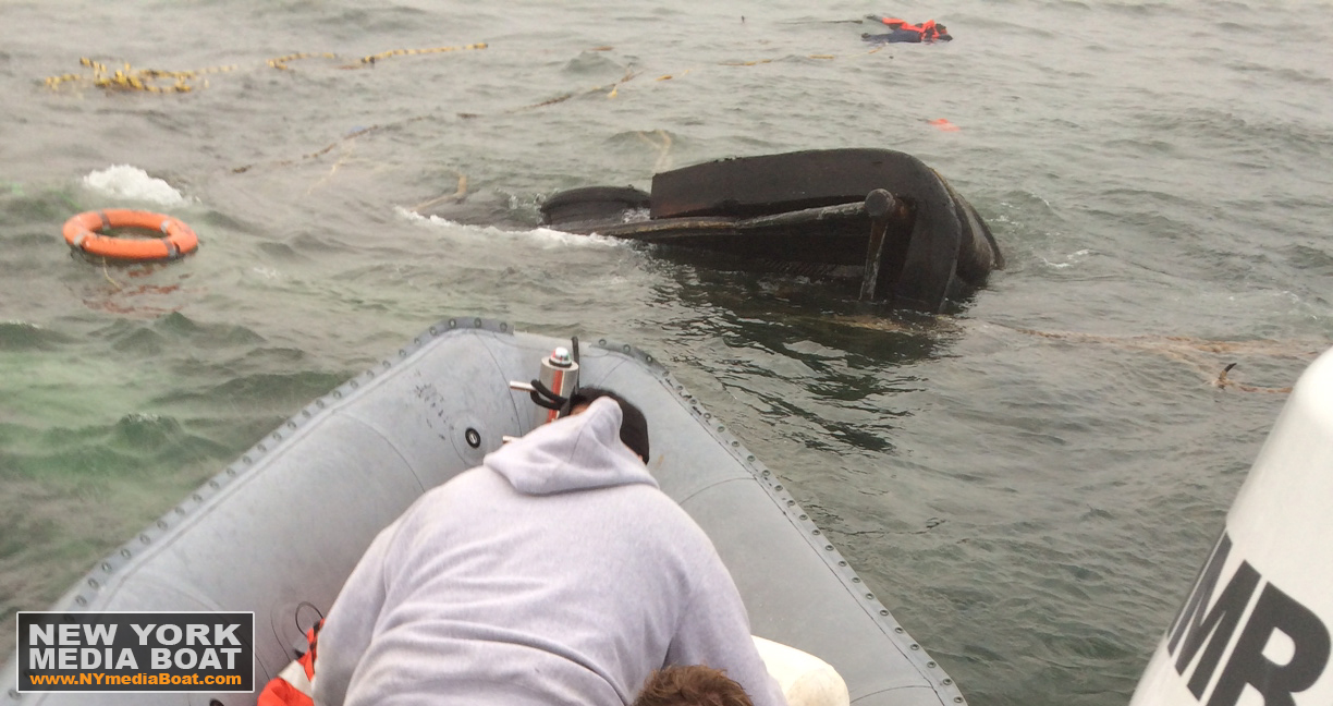 New York Media Boat Tug sinks