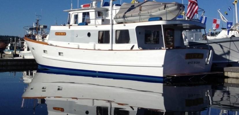 Willard trawler willard marine for Garden design trawler boat