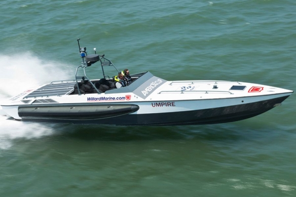 43' Assault High Speed Inerceptor Umpire Boat - 1
