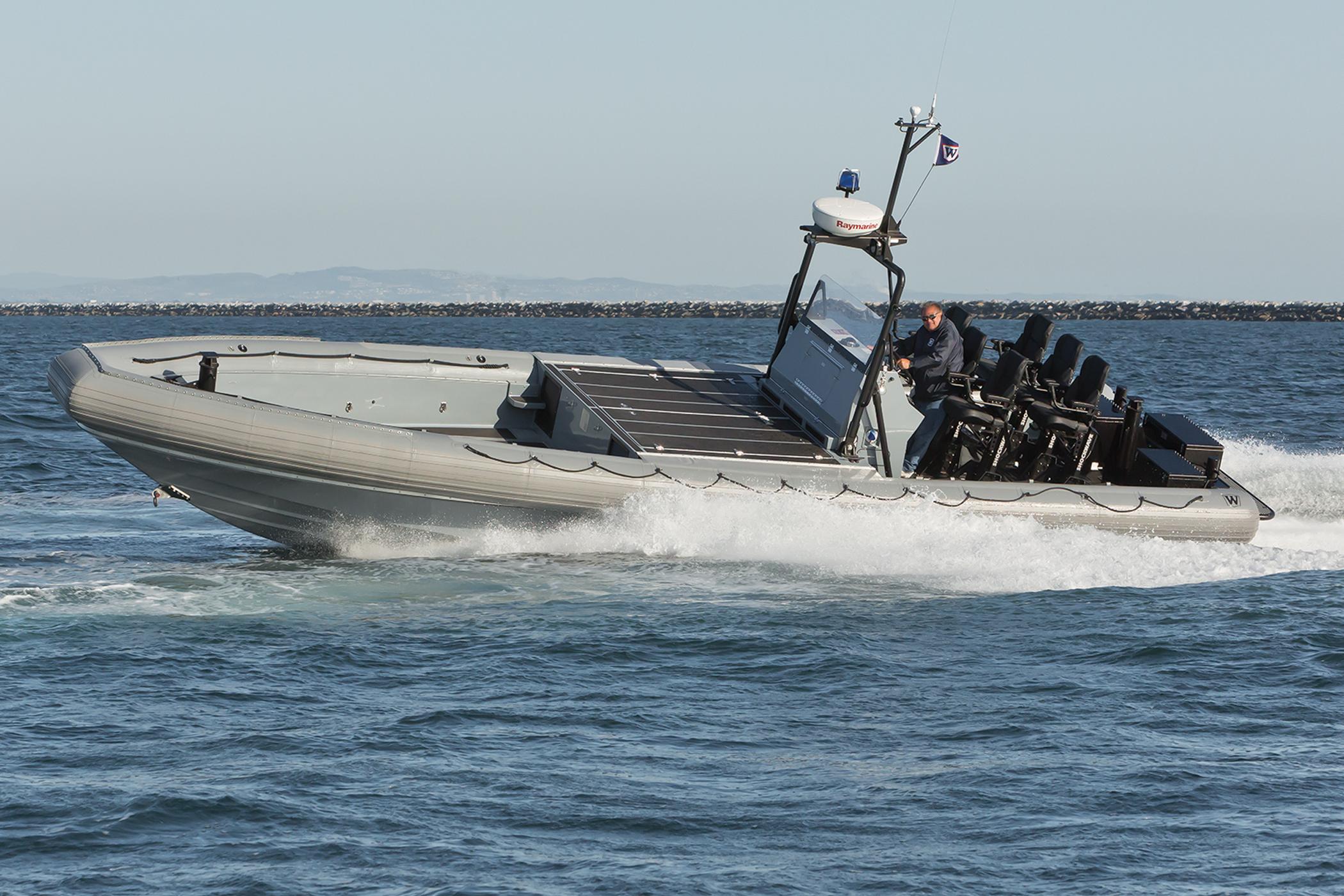 Willard marine to supply aluminum patrol boats for ukranian navy under foreign military sales program